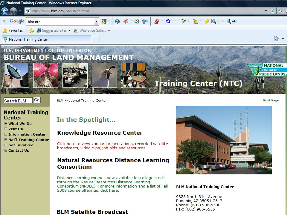 NTC Course 8300-14. Presented at Bend, OR, 3/2&3/2010