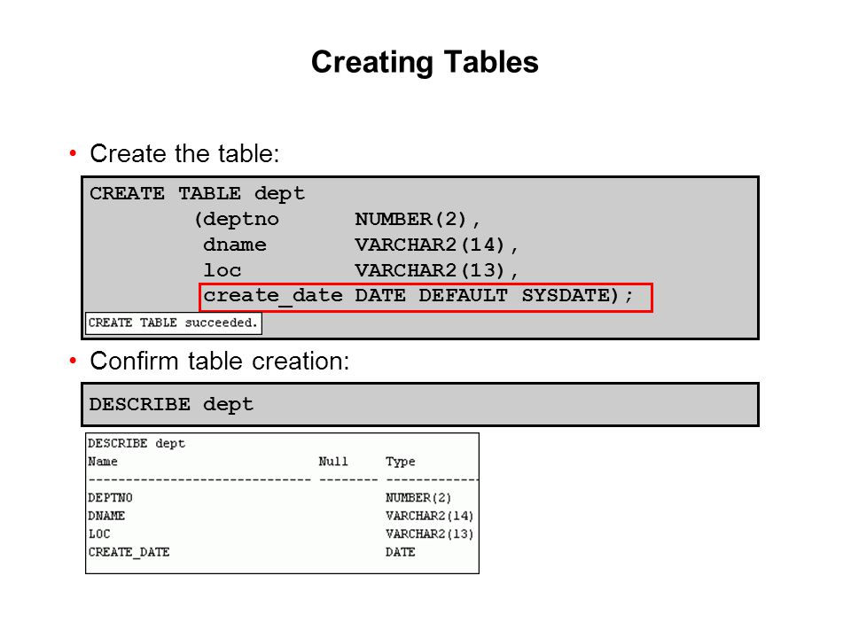 Oracle Database 11g: SQL Fundamentals I 10 - 10