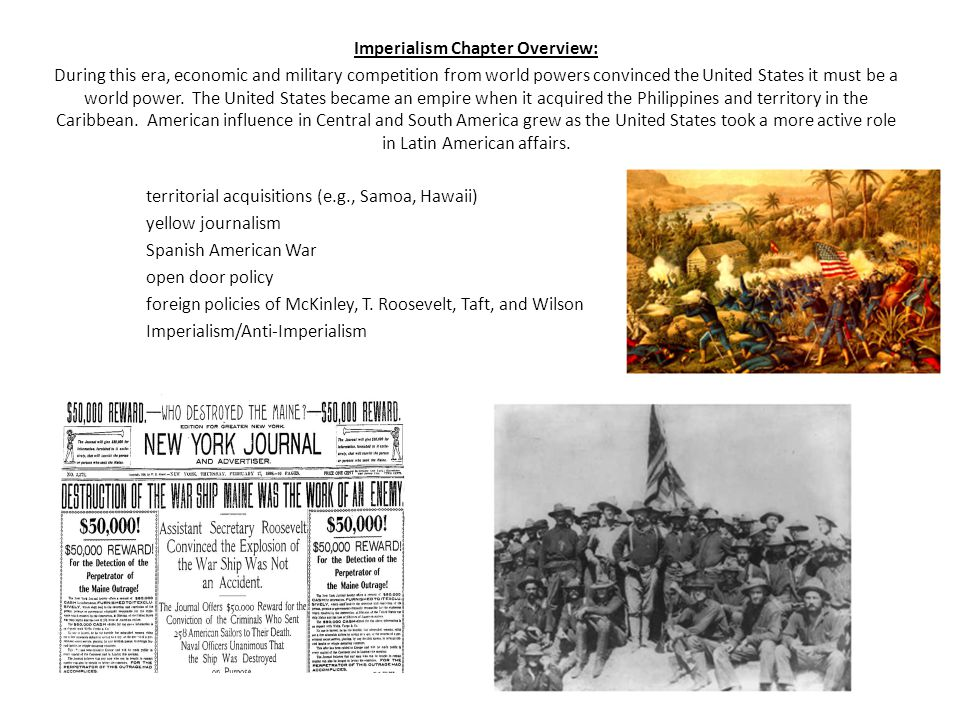 Imperialism Chapter Overview: