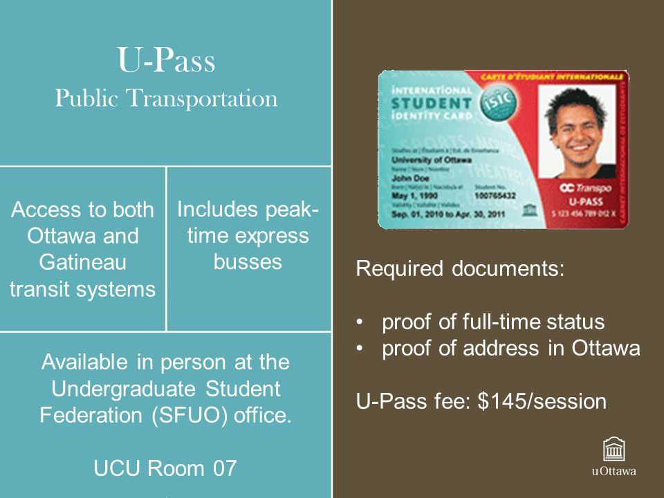 U-Pass Public Transportation
