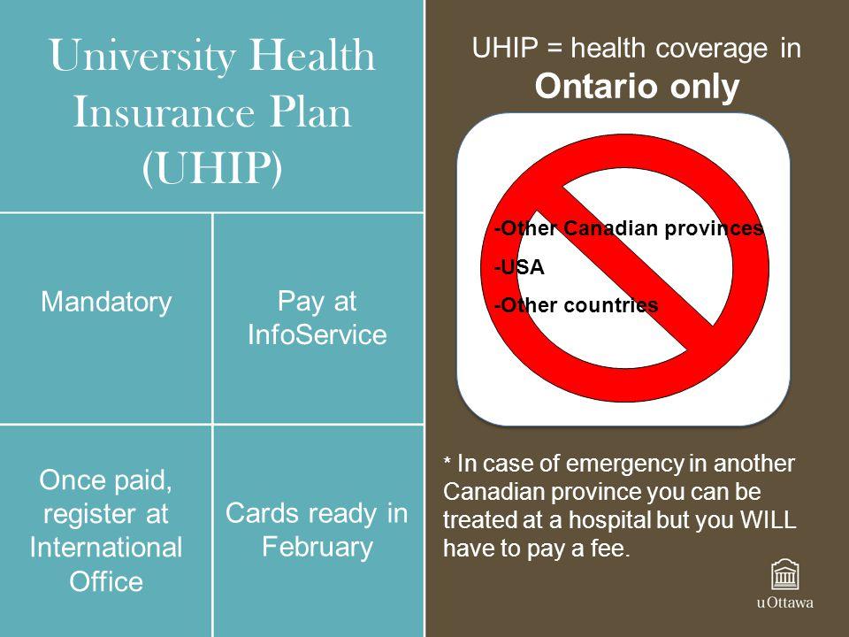 University Health Insurance Plan (UHIP)