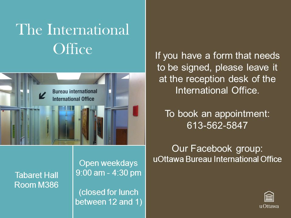The International Office