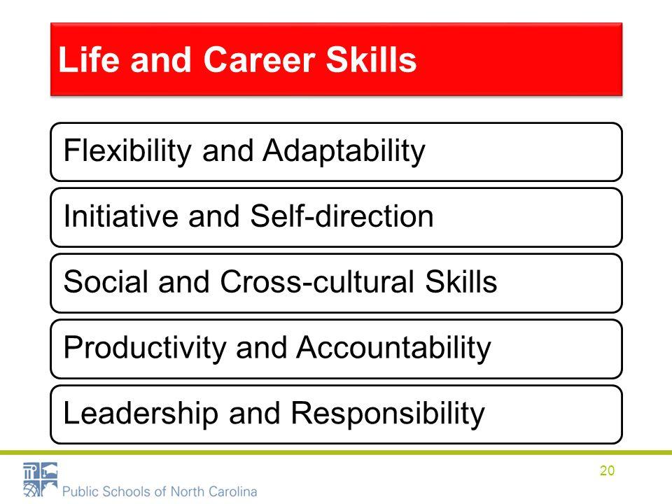 Life and Career Skills Flexibility and Adaptability
