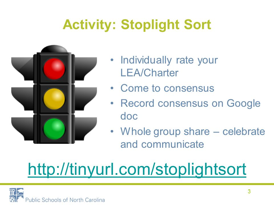 Activity: Stoplight Sort