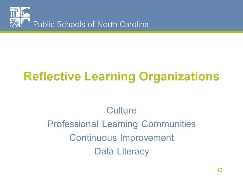 Reflective Learning Organizations