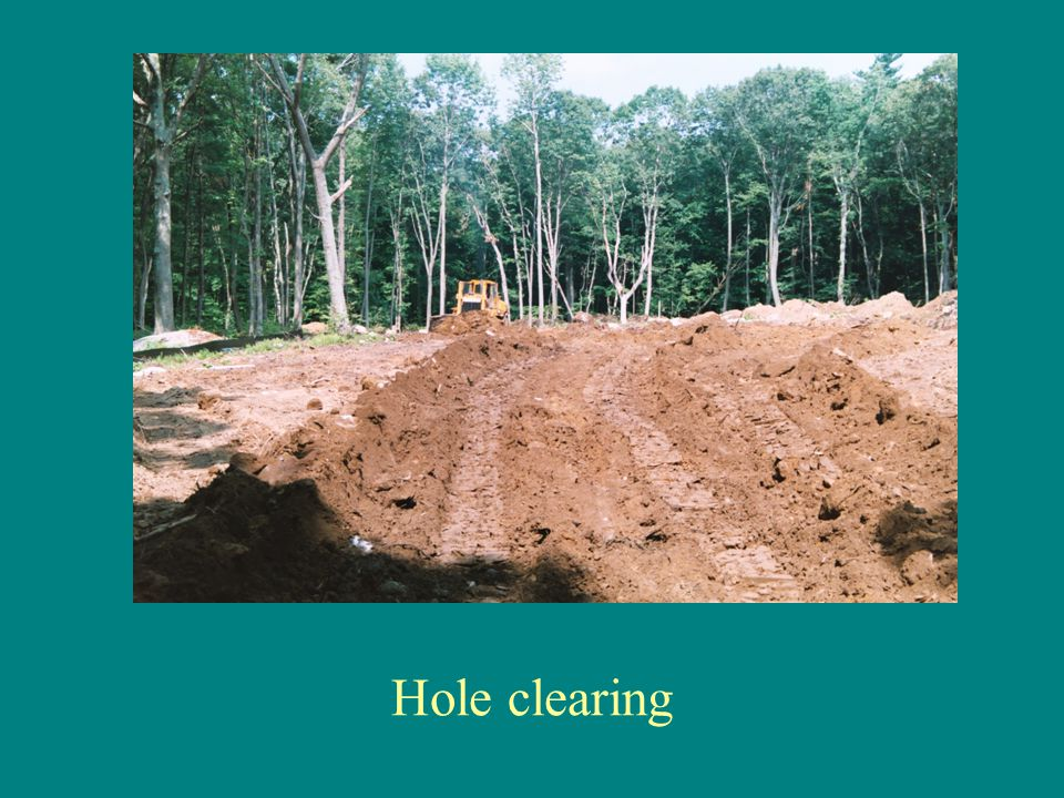 Hole clearing