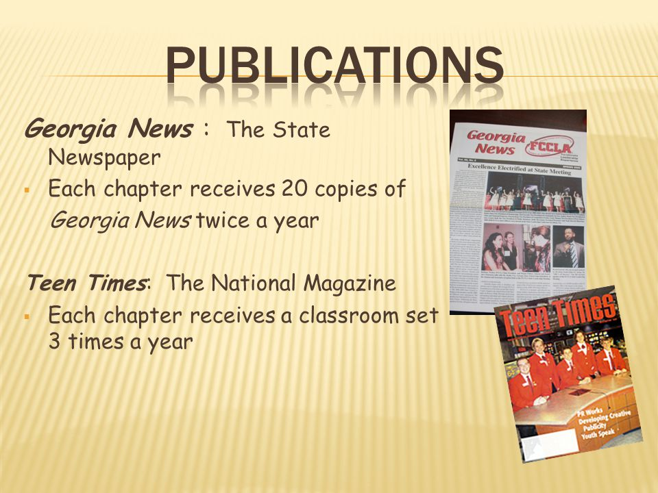 Publications Georgia News : The State Newspaper