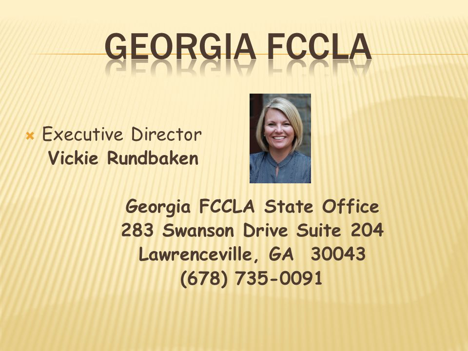 Georgia FCCLA State Office