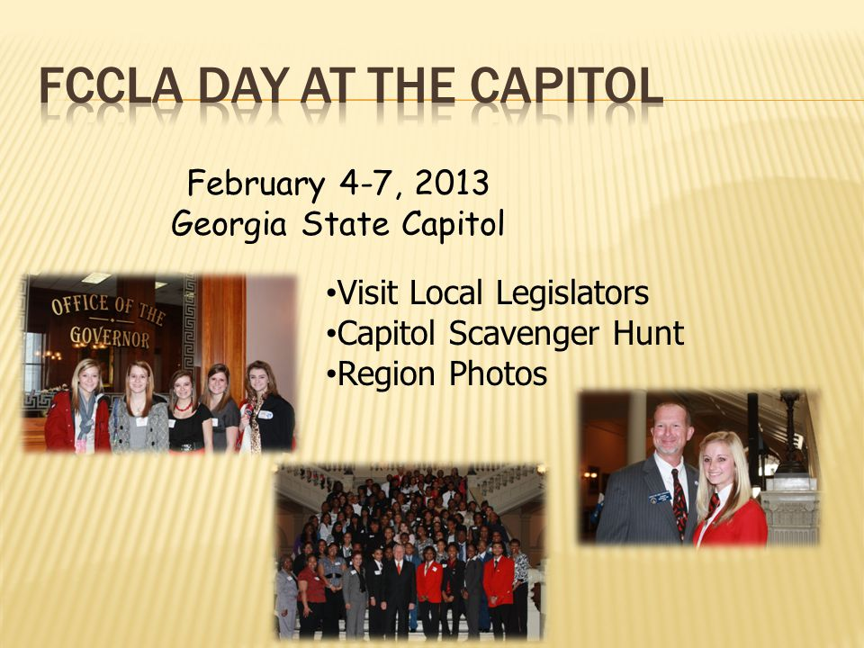 FCCLA Day at the Capitol