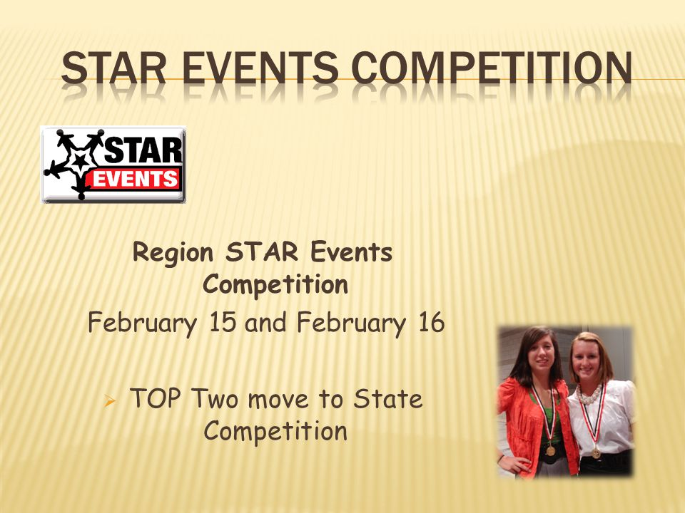 STAR Events Competition