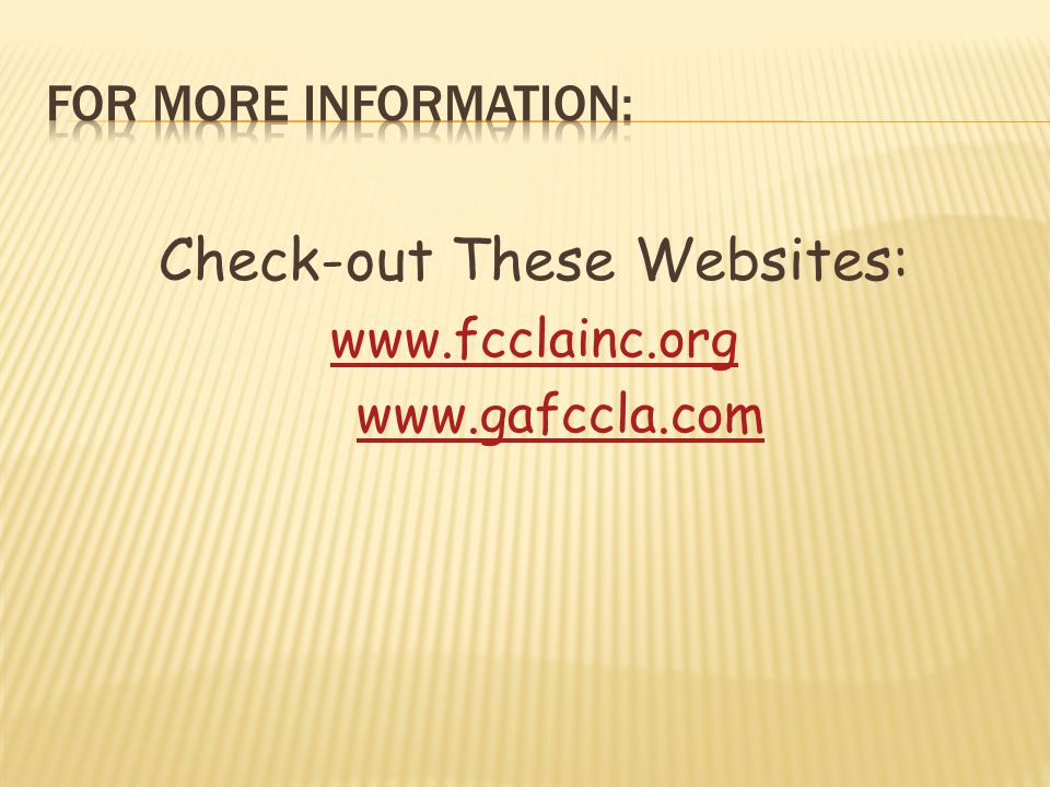 Check-out These Websites: