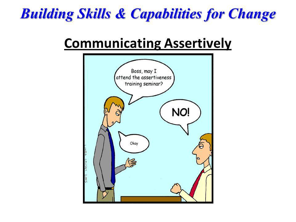 Communicating Assertively