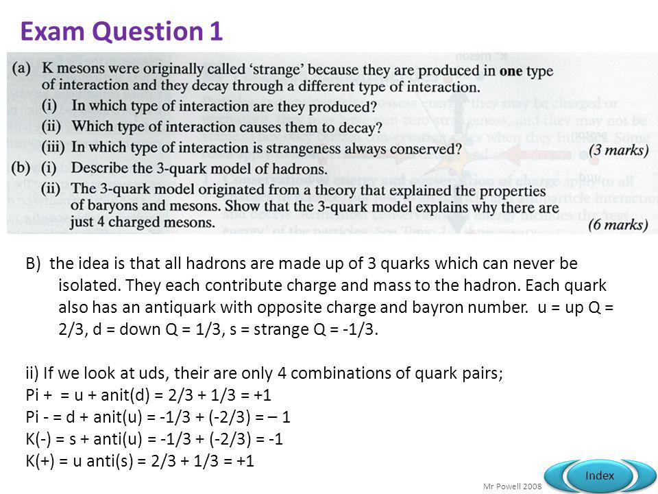 Exam Question 1
