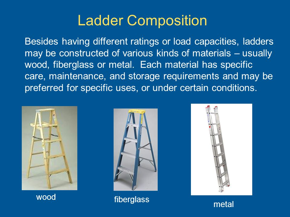 Ladder Composition