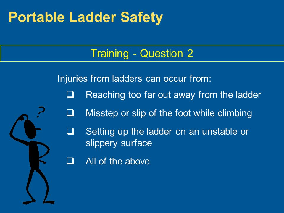 Portable Ladder Safety