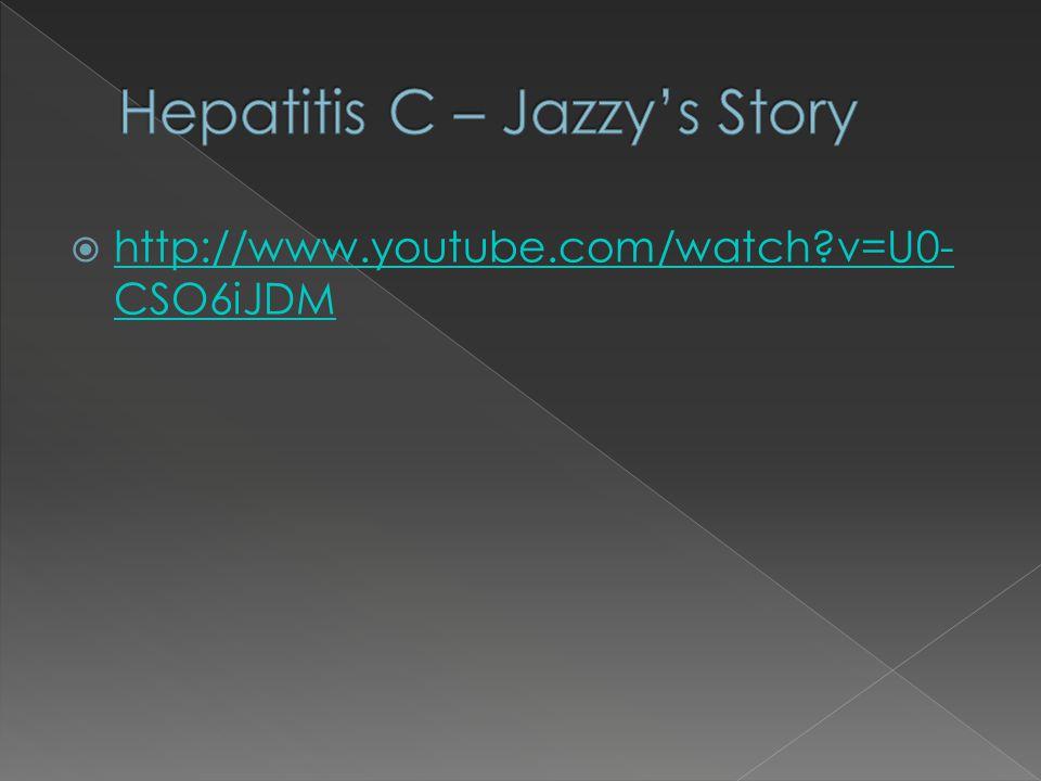 Hepatitis C – Jazzy's Story