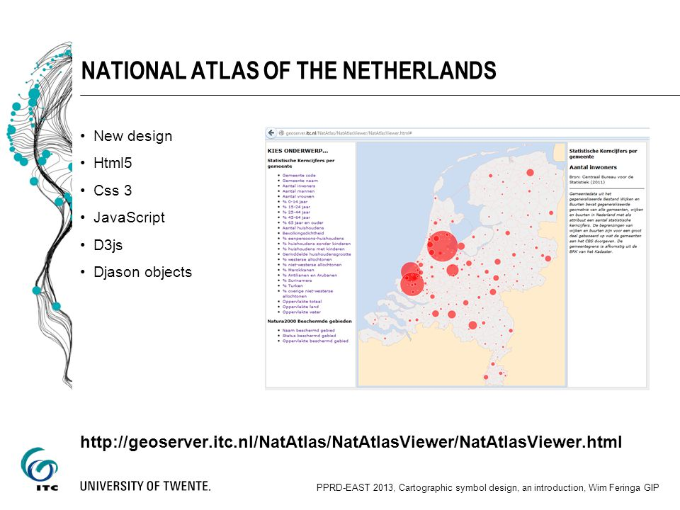 National Atlas of the netherlands