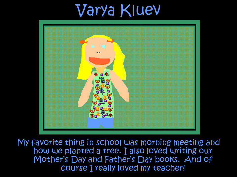 Varya Kluev