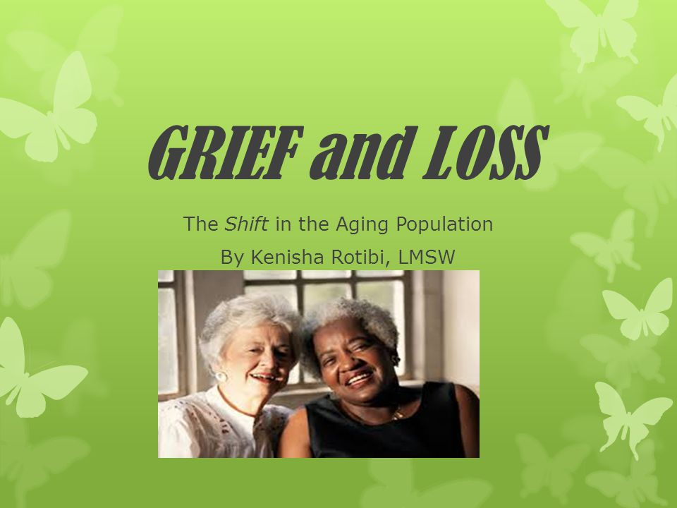 The Shift in the Aging Population By Kenisha Rotibi, LMSW