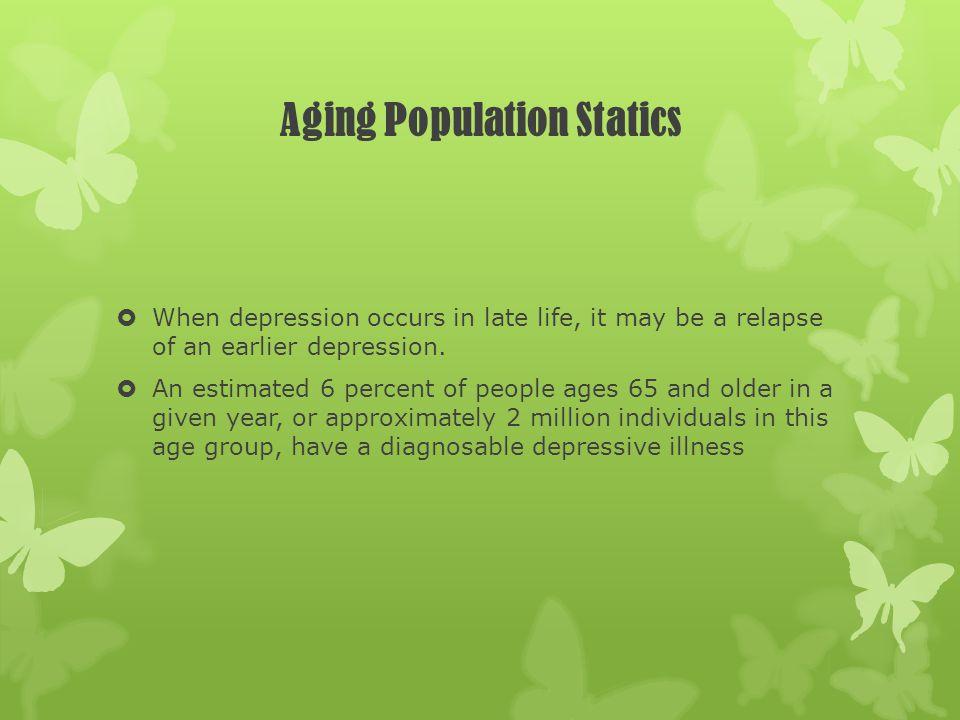 Aging Population Statics