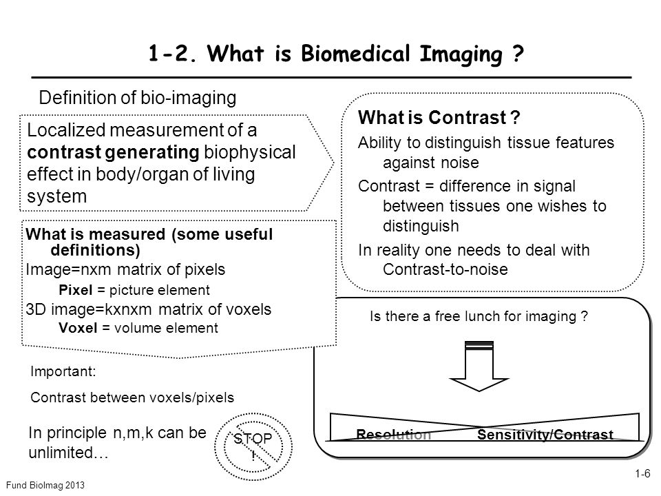 1-2. What is Biomedical Imaging
