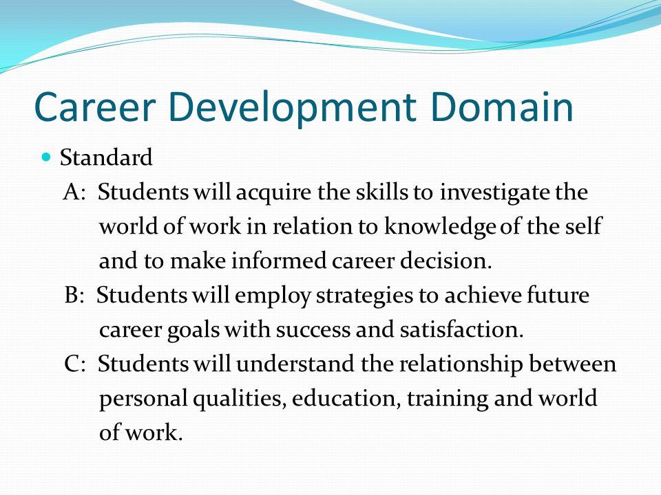 Career Development Domain