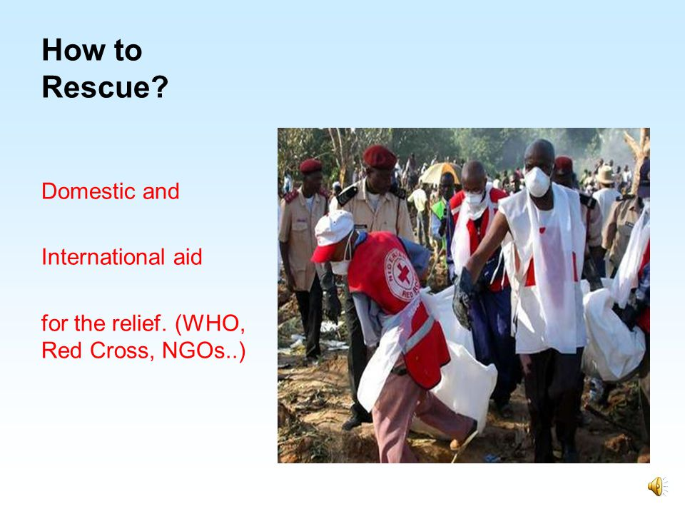 How to Rescue Domestic and International aid