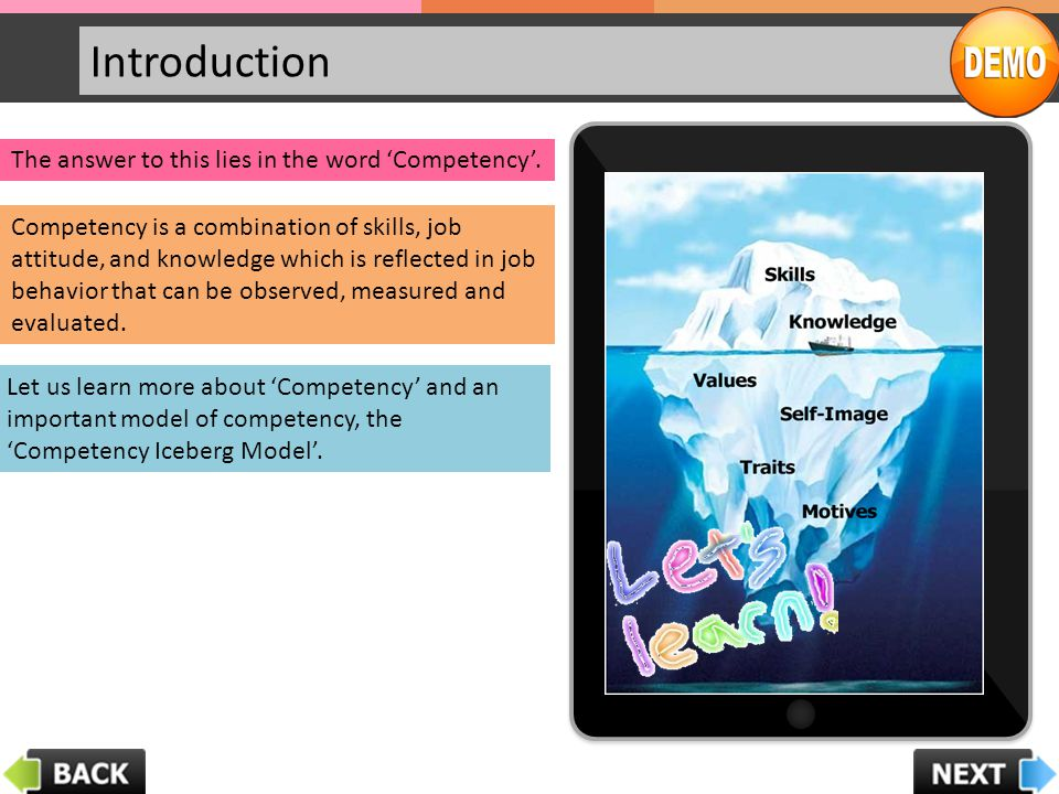 Competency Introduction