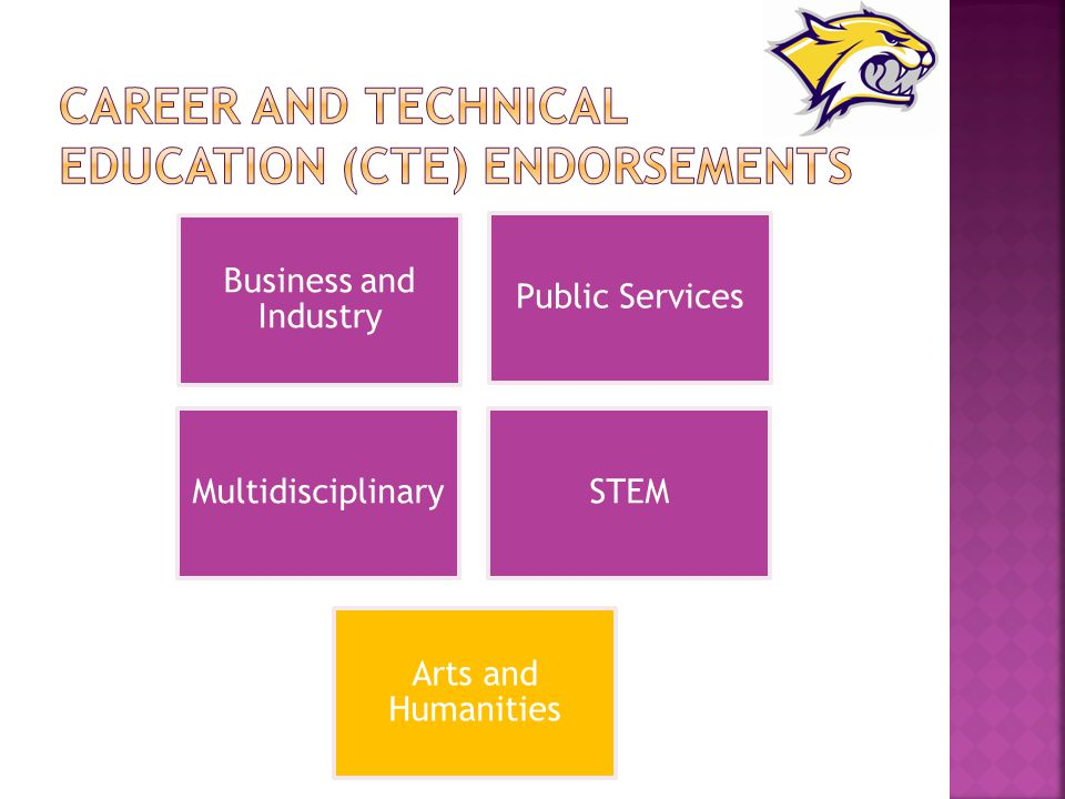 Career and Technical Education (CTE) Endorsements