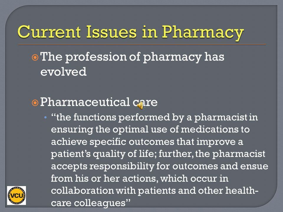 an analysis of the pharmacist profession An analysis of the use of pharmacy curriculum outcomes assessment (pcoa) scores within one professional program.