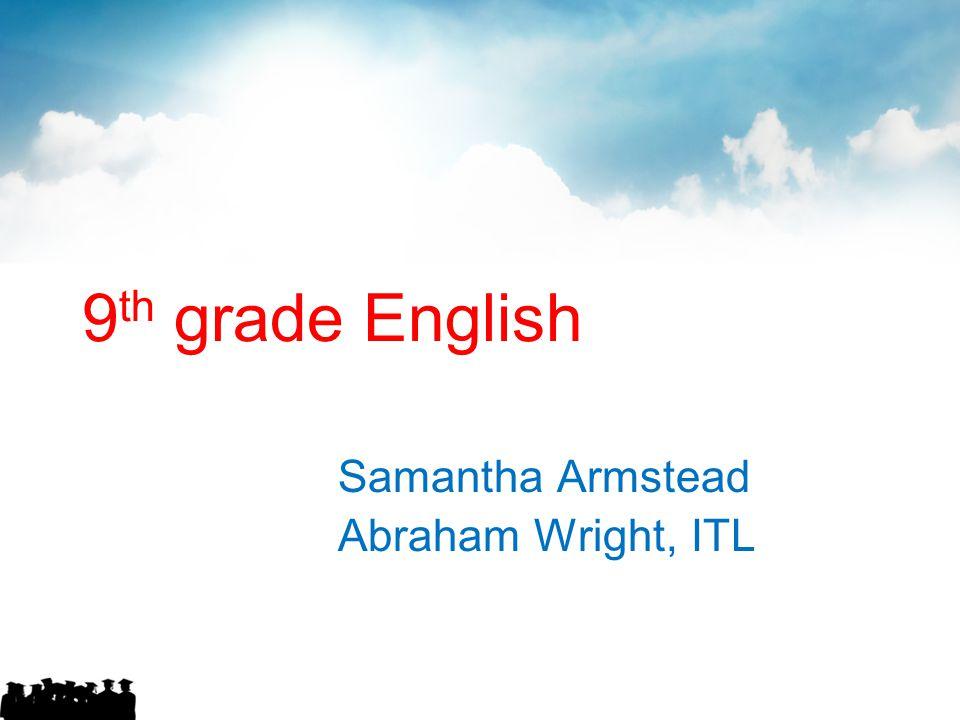 Samantha Armstead Abraham Wright, ITL