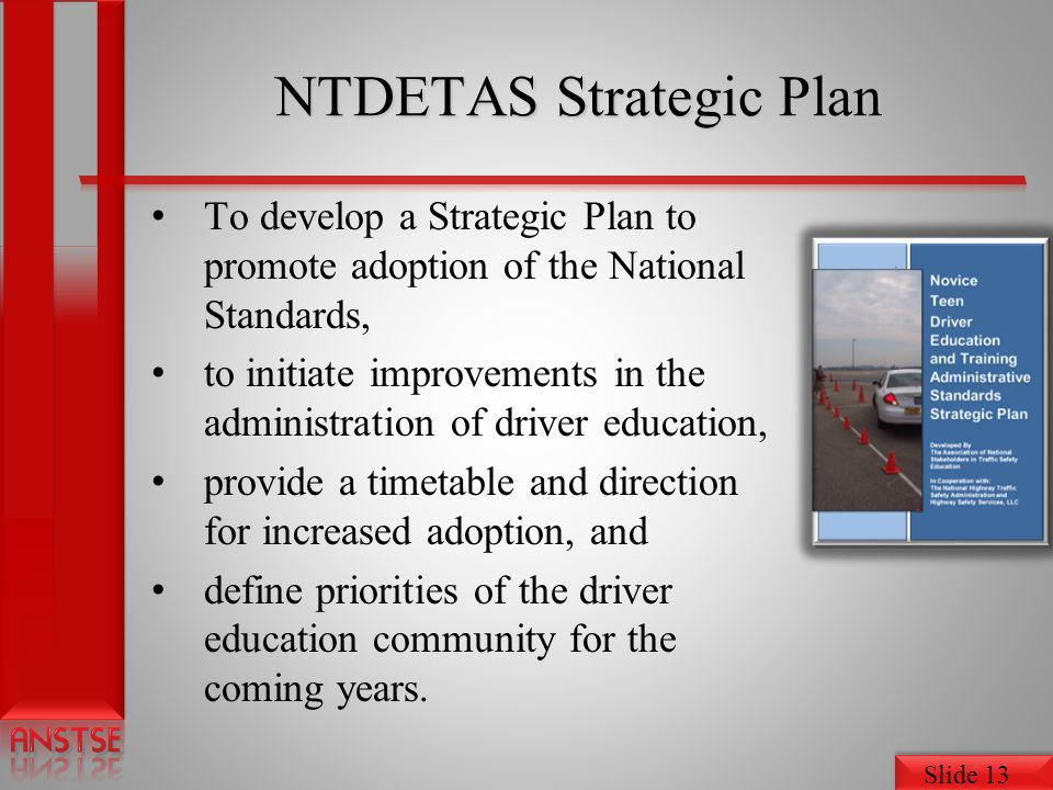 NTDETAS Strategic Plan