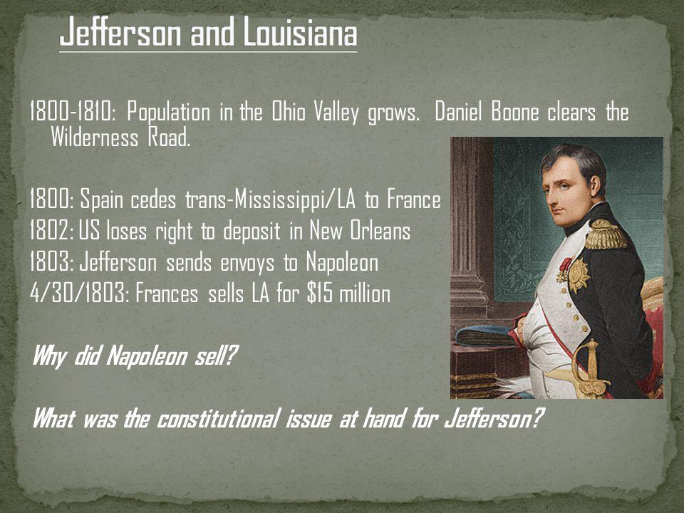 Jefferson and Louisiana