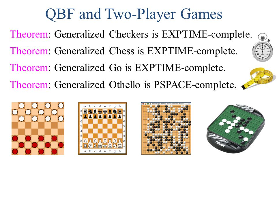 QBF and Two-Player Games