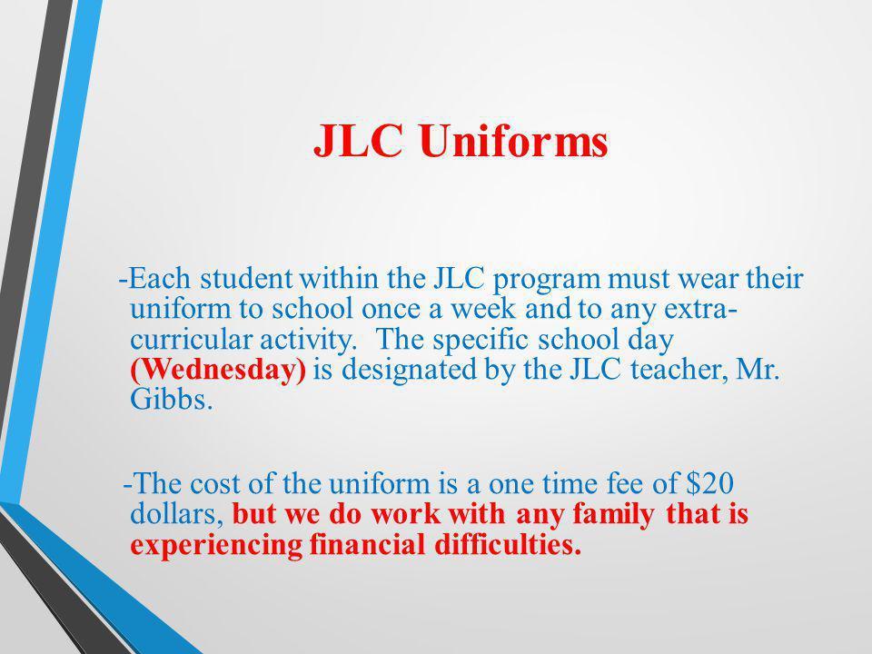 JLC Uniforms