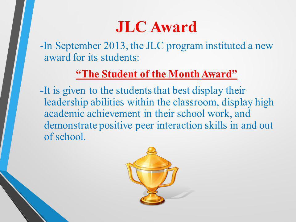 JLC Award