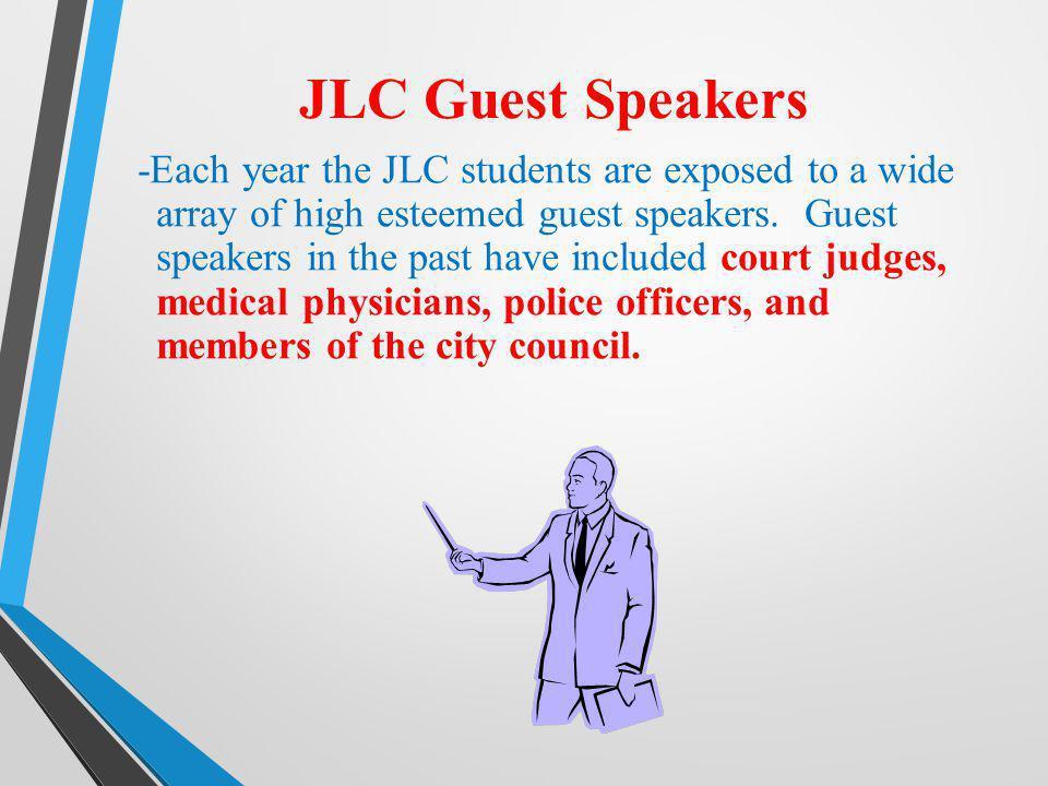 JLC Guest Speakers