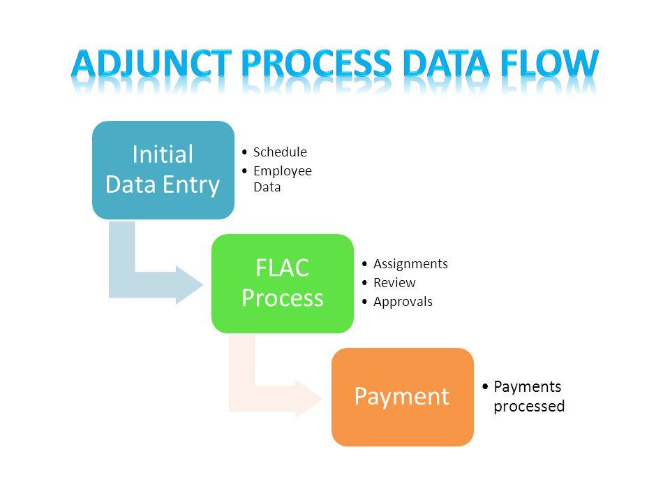 Adjunct Process Data Flow