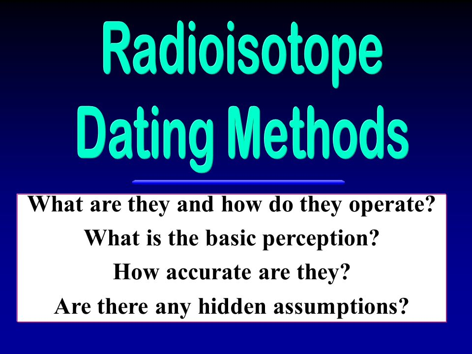 What are they and how do they operate What is the basic perception