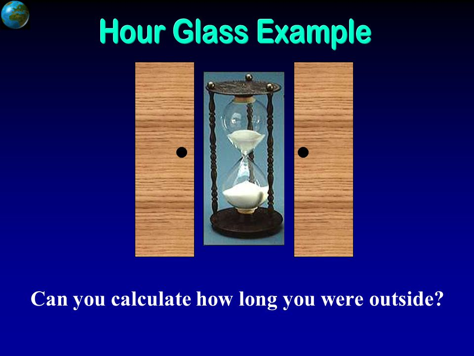 Can you calculate how long you were outside