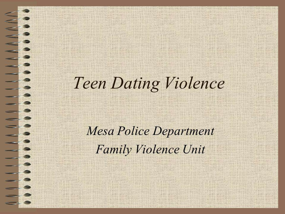 Mesa Police Department Family Violence Unit