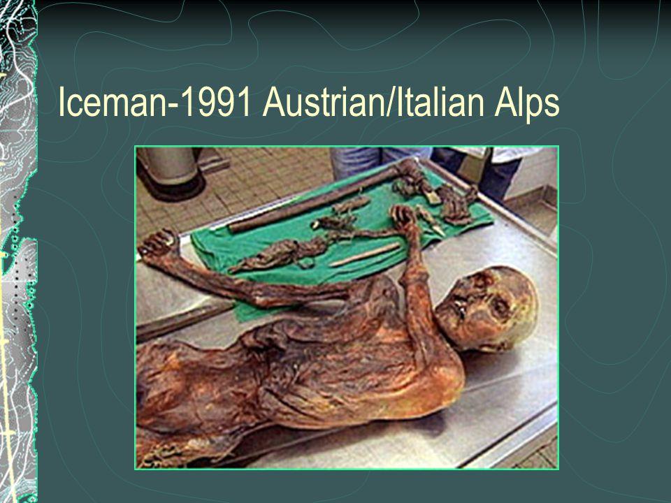 Iceman-1991 Austrian/Italian Alps