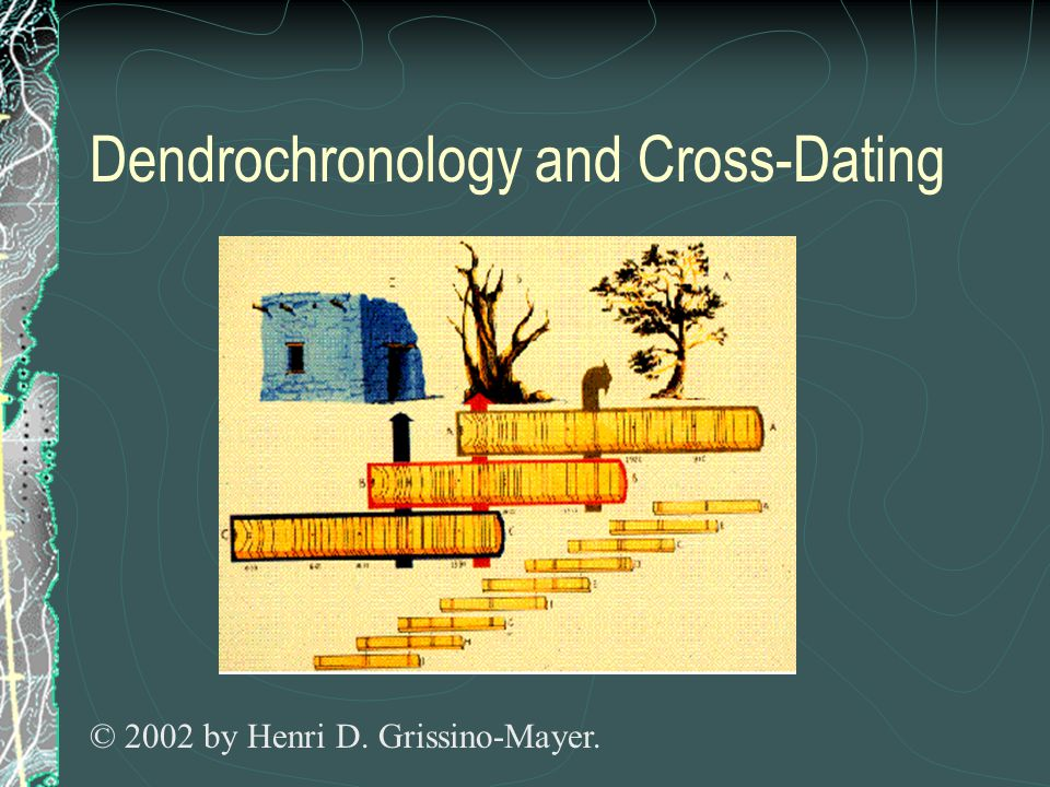 Dendrochronology and Cross-Dating