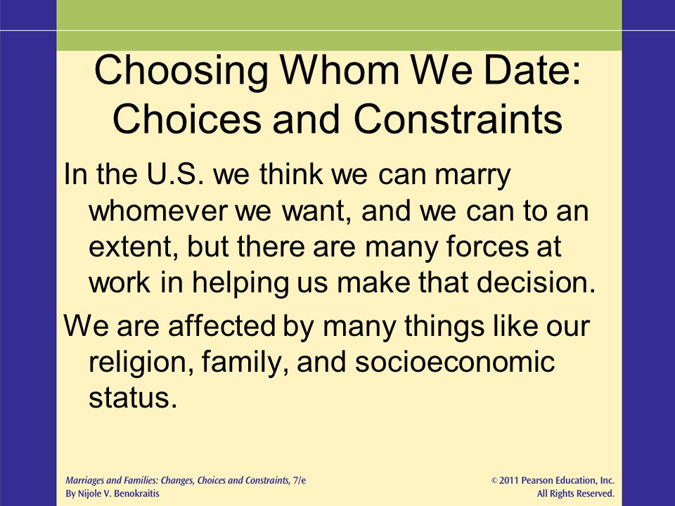 dating and mate selection ppt