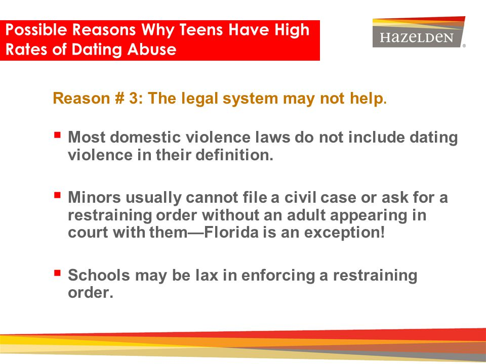 What is dating violence florida