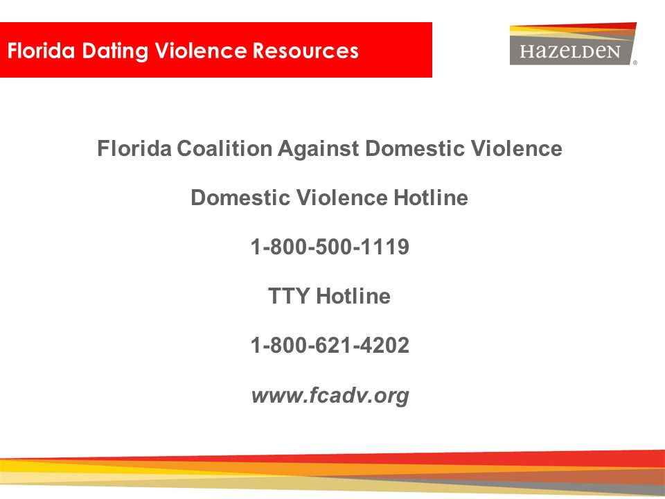 Dating violence hearing florida
