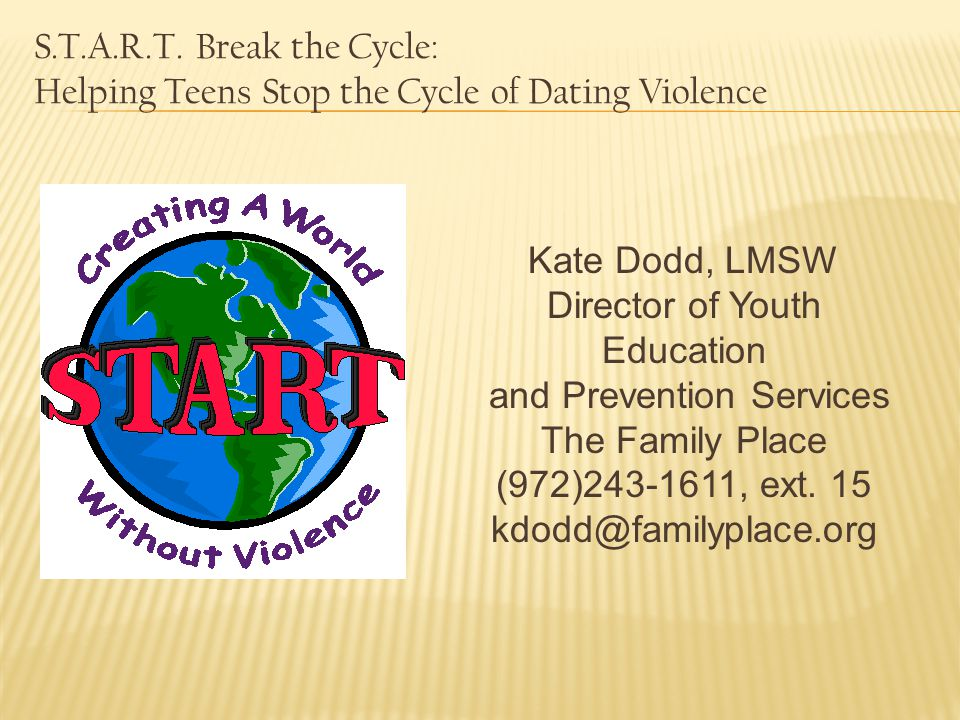 Director of Youth Education and Prevention Services The Family Place