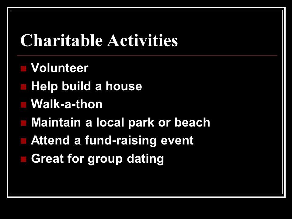 Charitable Activities