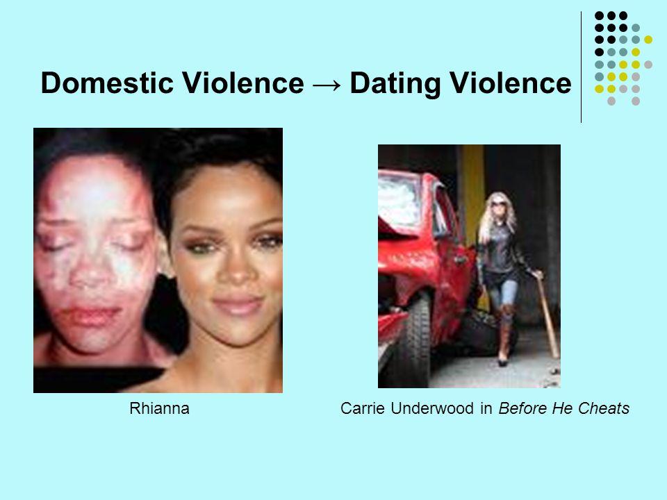 Domestic Violence → Dating Violence