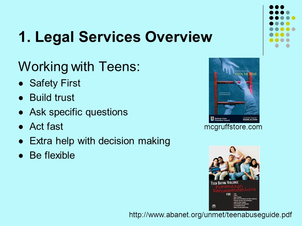 1. Legal Services Overview